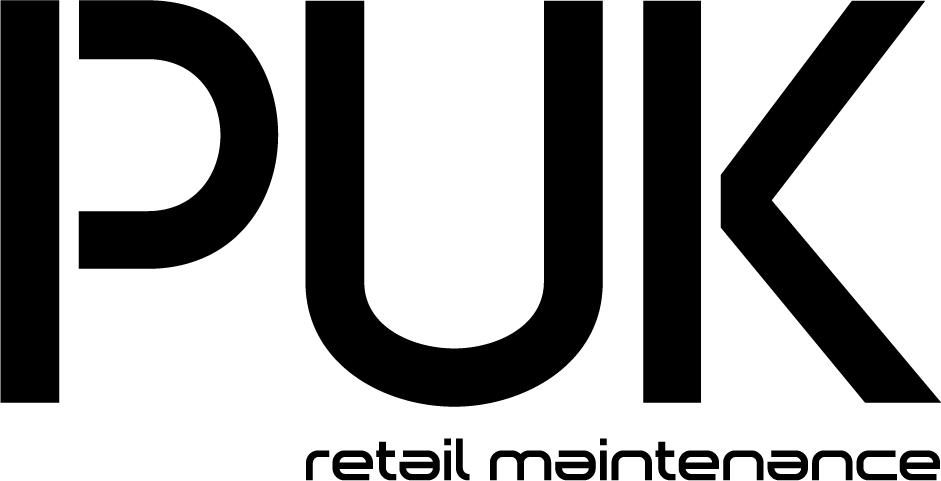 puk, pro up keep, logo, facility management, retail maintenance, retail